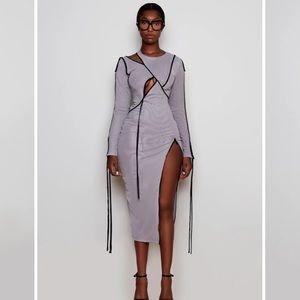 New BBX Grey Midi Dress Limited Edition